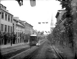 Tramway rue St-Jean